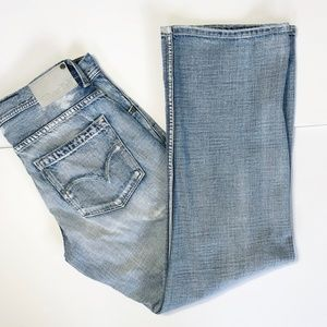 Levi's Silver Tab Distressed Jeans Ripped 33x3